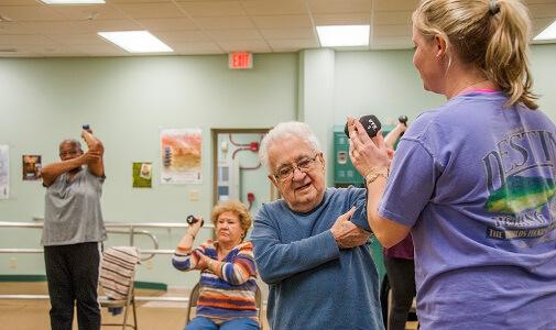 Elder fitness care