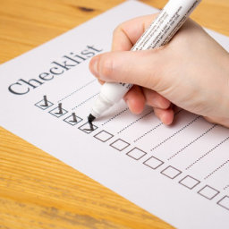 Caregiver Tip Checklist